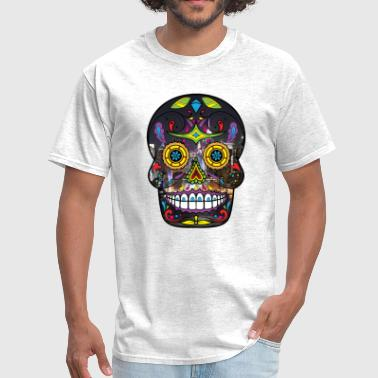 High Quality Sugar Skull - Men's T-Shirt