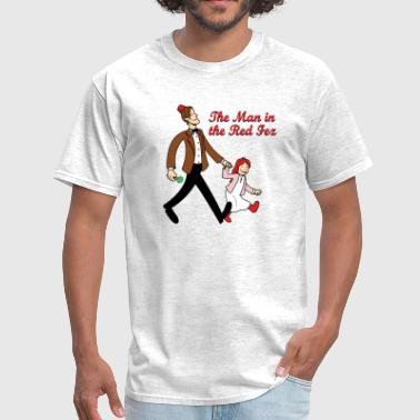 Curious George The Man In The Red Fez - Men's T-Shirt