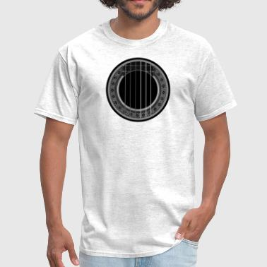 flamenco player gray - Men's T-Shirt