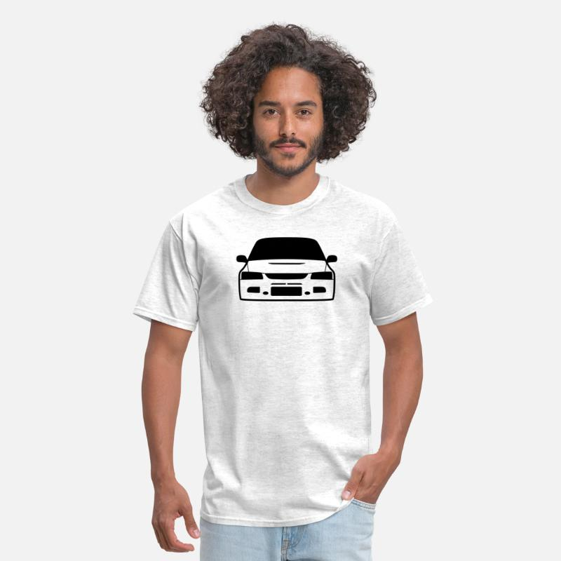 Automobile T-Shirts - JDM Evo9 | T-shirts JDM - Men's T-Shirt light heather grey