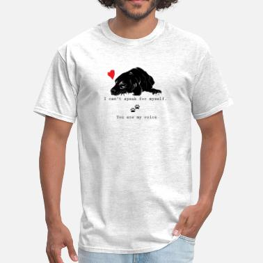 Animal Animal rights - I love dogs - Men's T-Shirt