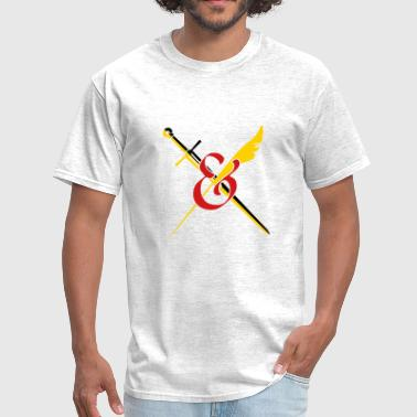 Swords and Stories Symbol - Men's T-Shirt