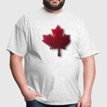 Red Canada Maple Leaf - Men's T-Shirt