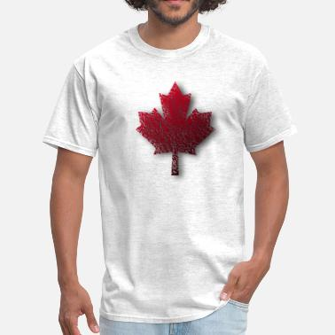 Maple Red Canada Maple Leaf - Men's T-Shirt