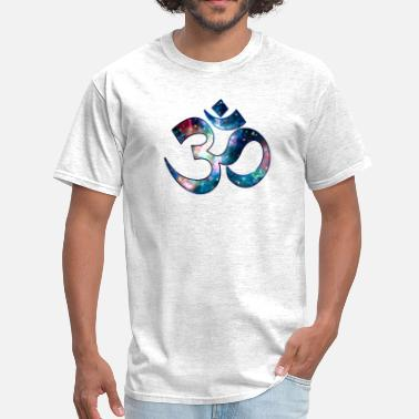 Sound Symbol Space OM, Sound of Universe, Symbol Evolution - Men's T-Shirt