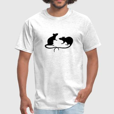 rat rats mouse mice ratty - Men's T-Shirt
