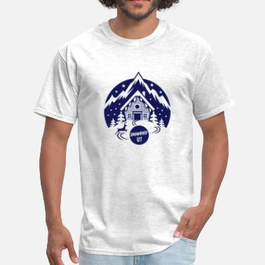 Powderhound Snowbird - Men's T-Shirt