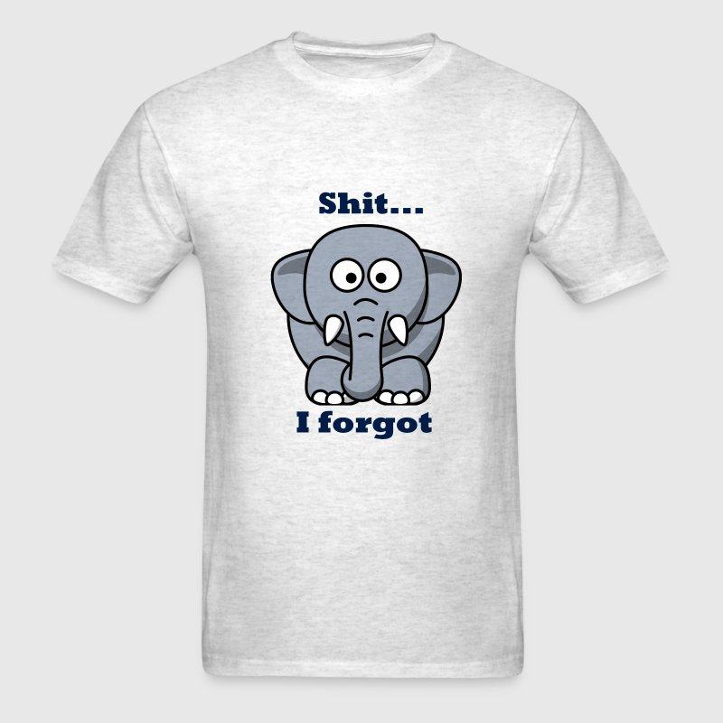 Shit... I forgot - Men's T-Shirt
