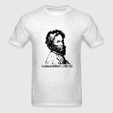 Morales Portrait - Men's T-Shirt