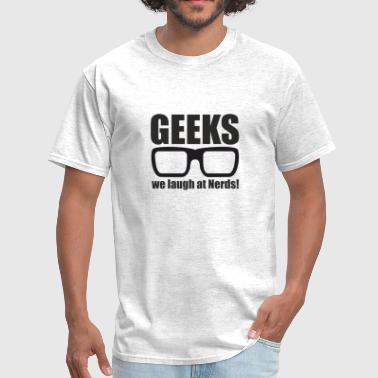 Loser Insults Geeks - Men's T-Shirt