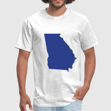 Georgia State Map State Georgia - Men's T-Shirt
