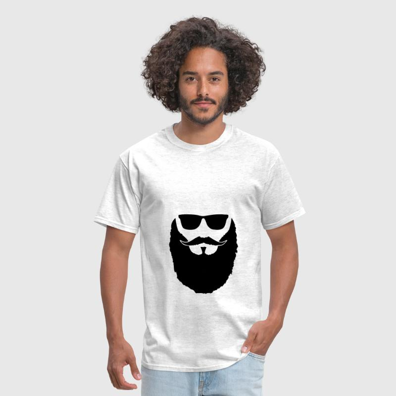 Hipster beard and glasses - Men's T-Shirt