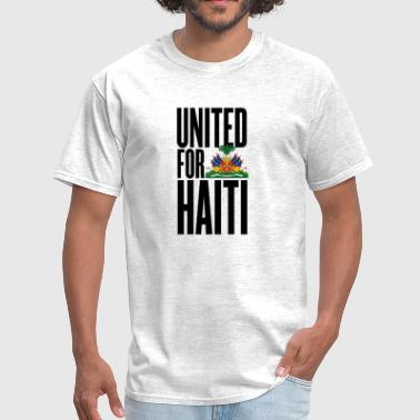 Authors Rights united for haiti - all author rights will be sent  - Men's T-Shirt