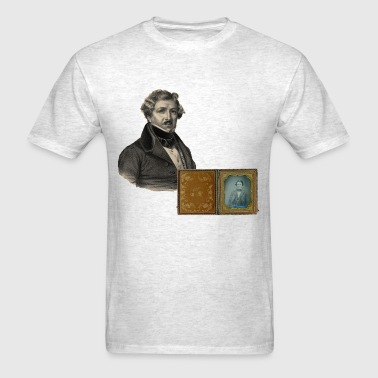 Daguerre and the Daguerreotype - Men's T-Shirt