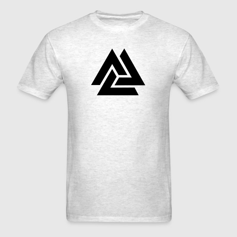 Valknut, Odins Knot, 9 Worlds of Yggdrasil - Men's T-Shirt