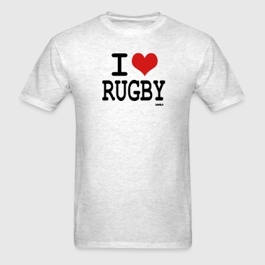 i love rugby by wam - Men's T-Shirt