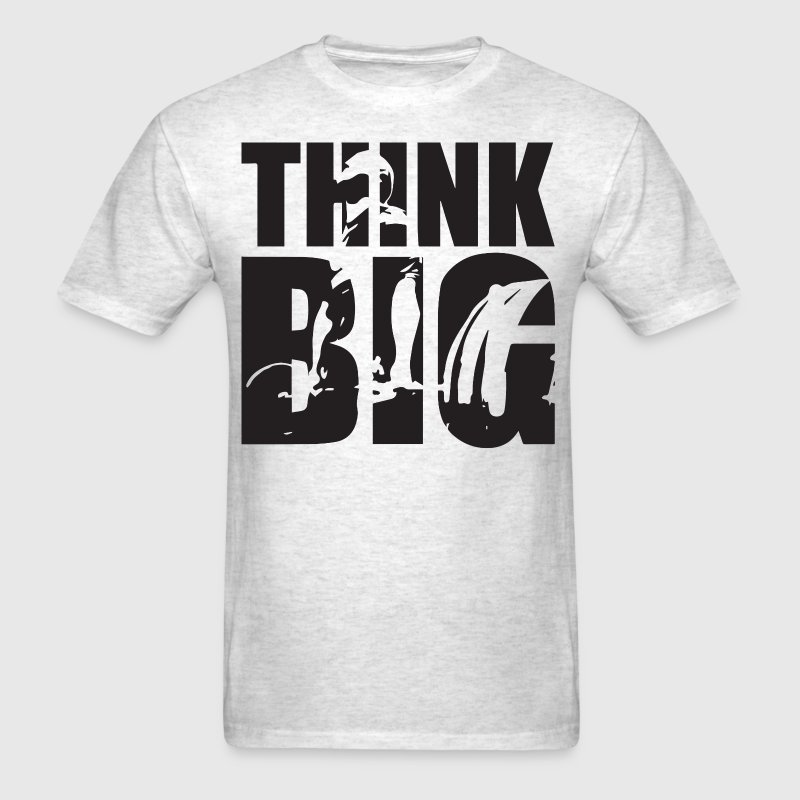 Think Big - Deadlift - Men's T-Shirt