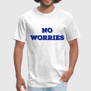 No Worries NO WORRIES NAVY - Men's T-Shirt