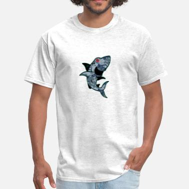 Cocaine Blues digishark.png - Men's T-Shirt