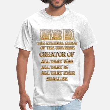Eternity GOD Eternal Creator Mens T-Shirt - Men's T-Shirt