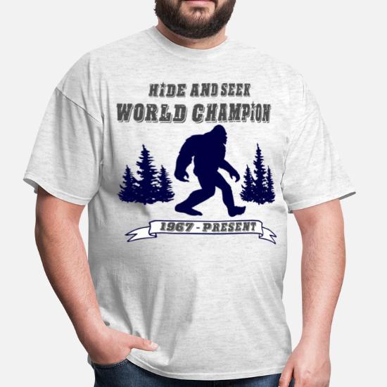 39b8c5ef4ea4 Hide & Seek World Champion Men's T-Shirt | Spreadshirt