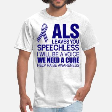 Als Awareness ALS Awareness - Men's T-Shirt