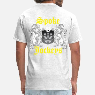 Spokes Spoke Jockey  - Men's T-Shirt