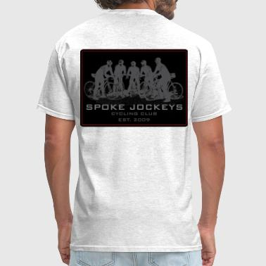 Spoke Jockeys sign 2 - Men's T-Shirt