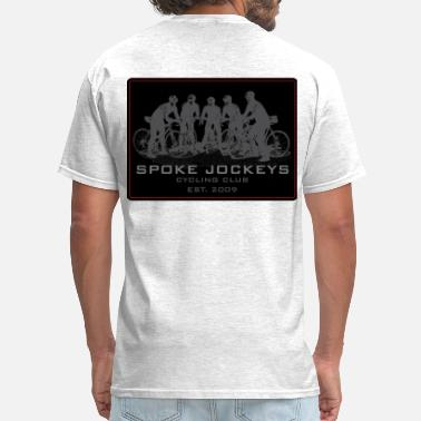 Cannondale Spoke Jockeys sign 2 - Men's T-Shirt
