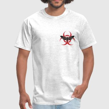 Moth Bio Hazard - Men's T-Shirt