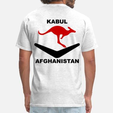 Kabul Kabul Red Roo T-Shirt - Gray - Men's T-Shirt