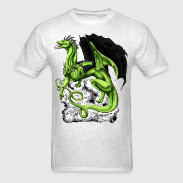 western dragon - Men's T-Shirt