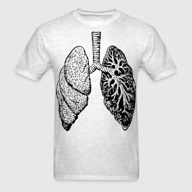 lung - Men's T-Shirt