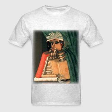giuseppe_arcimboldo__the_librarian - Men's T-Shirt