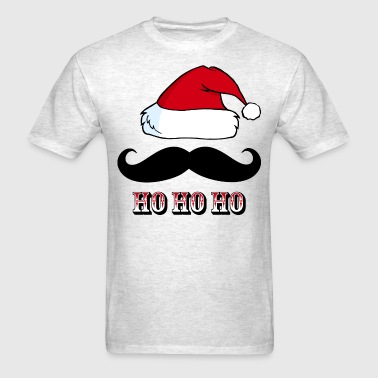 Mustache Santa Red - Men's T-Shirt