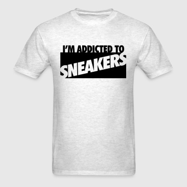 i'm addicted to sneakers - Men's T-Shirt