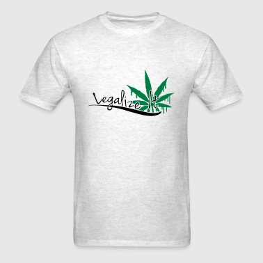 Legalize It Weed - Men's T-Shirt