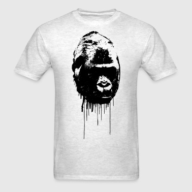 Gorilla Graffiti - Men's T-Shirt