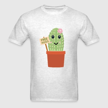 Cactus free hugs - Men's T-Shirt