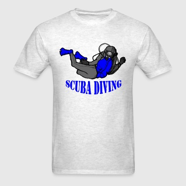 SCUBA Diving Diver - Men's T-Shirt