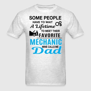 Mechanic Dad - Men's T-Shirt