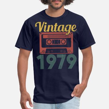 1979 40th Birthday - Vintage 1979 Funny Gift - Men's T-Shirt