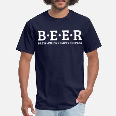 Funny Beer Beer Brewer - Craft Beer Brewmaster Funny Gift - Men's T-Shirt