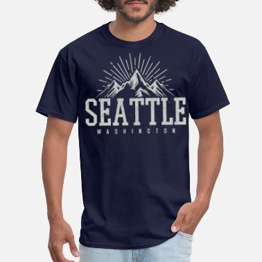 Seattle Seattle - Men's T-Shirt