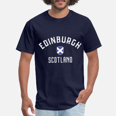 Pays Silhouettes Scotland T-shirt homme-Edingburgh-Glasgow-UK Voyage