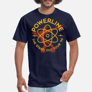 Powerline Powerline - Men's T-Shirt