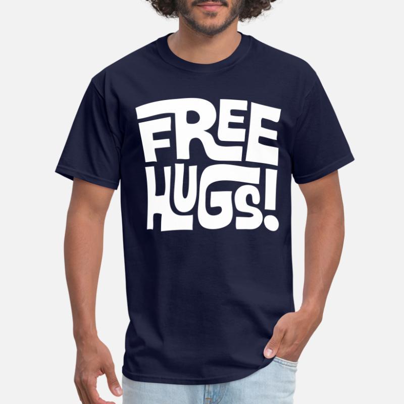 080b9a56a Shop Free Hugs T-Shirts online | Spreadshirt