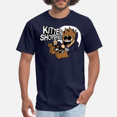 Eddsworld EDDSWORLD KITTEN SHOPPING - Men's T-Shirt