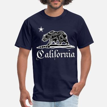 Cali CALIFORNIA BANDANA - Men's T-Shirt