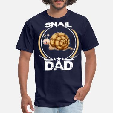 Snail Snail Dad Shirt For Fathers Day Animal Lovers Gift - Men's T-Shirt